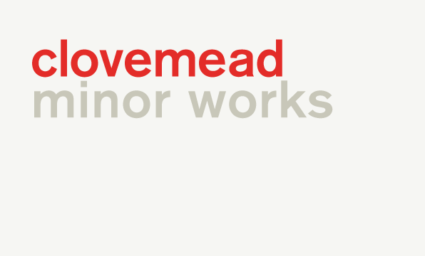 Clovemead minor works