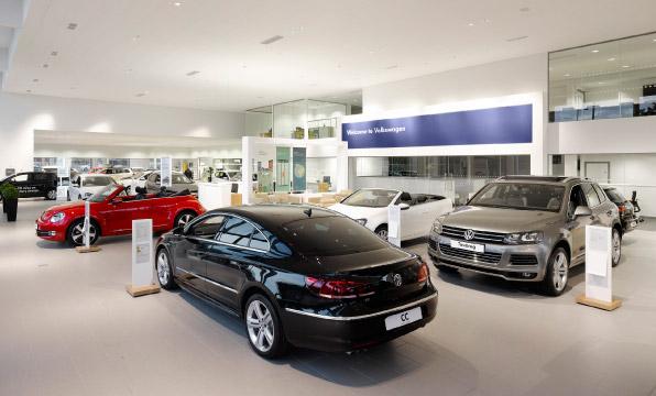 Volkswagen Exeter | Clovemead Construction case study